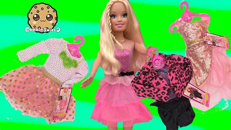 Best Fashion Friend Super-sized Barbie Doll + Dress Up