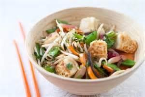 recettes de cuisine au wok recette de wok de légumes au gingembre tofu végétarien