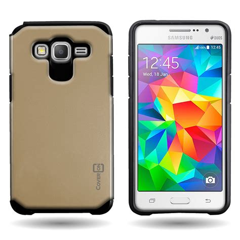 for samsung galaxy grand prime tough impact hybrid cover protective ebay