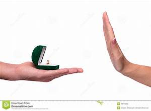Hand Giving Box With A Wedding Ring Stock Image - Image ...