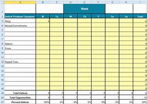 Use A Checksheet To Collect Data