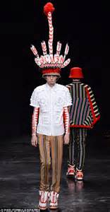 Walter Van Beirendonck hits Paris with clown stripes