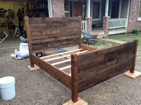Furniture Made With Pallets by Recycled Pallet Size Bed Beds Pallet Bed Frames