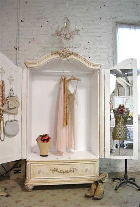 shabby chic cottage furniture wardrobe armoire 25 shabby chic ideas for a romantic bedroom
