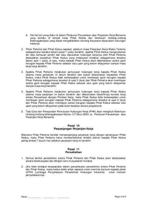 contoh kontrak perjanjian pembuatan software di staffsyn