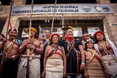 Ecuador Waorani Indigenous Ecuadorian Peoples Forest Defend