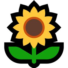 sunflower emoji meaning copy paste