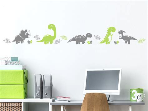 Wandtattoo Kinderzimmer Bordüre by Wandtattoo Bord 252 Re Dinos F 252 Rs Kinderzimmer Wandtattoos De