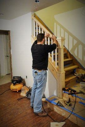 Replace Stair Banister by 1000 Ideas About Indoor Stair Railing On