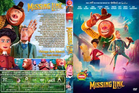 missing link   custom dvd cover dvdcovercom