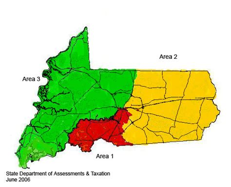 wicomico county reassessment areas