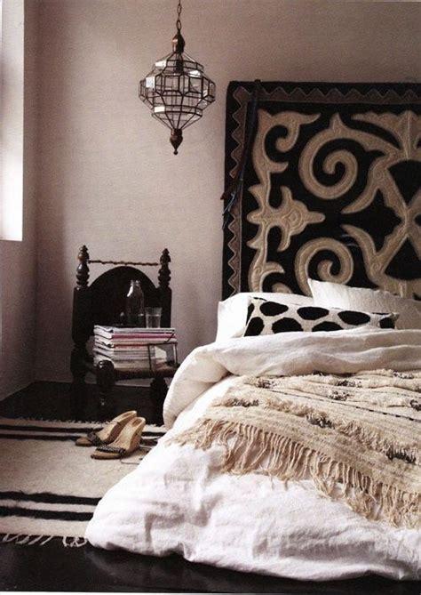 chambre ethnique cabane indigo quand la décoration ethnique chic se