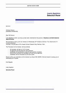 confirmation email template job interview 6 best With confirmation email template job interview