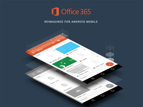 Office 365 Mobile by Office 365 Android Mobile Uplabs