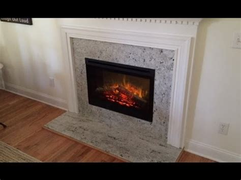 Gas To Electric  Ee  Fireplace Ee     Youtube