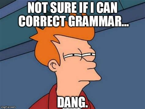 Correct Grammar Meme - bad pun dog meme imgflip