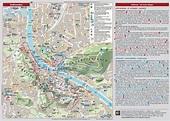 Salzburg sightseeing map