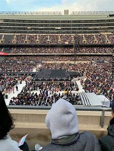 Soldier Field Section 338 Row 2 Seat 4 Bts Tour Bts