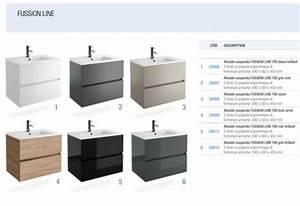 bathroom furniture sink washbasins meuble sdb bathroom With salle de bain design avec plan vasque suspendu