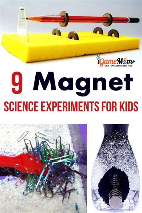science experiments explaining magnetism  kids