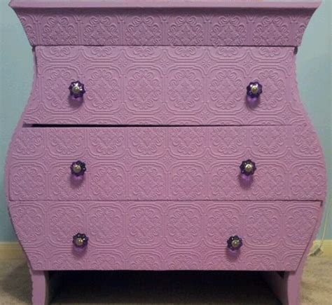 distressing kitchen cabinets dresser makeover using textured paintable wallpaper 3384