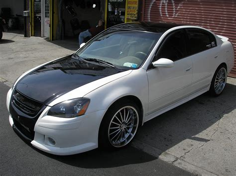 bkmitch  nissan altima specs  modification