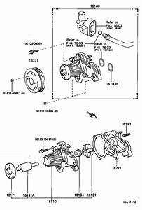 Toyota Mr2 Engine Water Pump Pulley