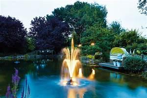 Fontaine Cascade Bassin : pompe bassin pondjet fontaine flottante oase expert ~ Premium-room.com Idées de Décoration