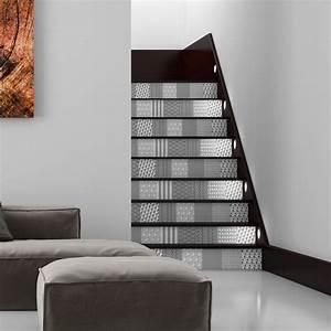 Escalier Carreaux De Ciment : stickers escalier carreaux de ciment gerd x 2 ambiance ~ Dailycaller-alerts.com Idées de Décoration