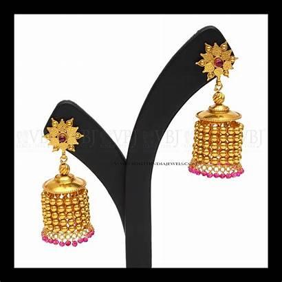 Buttalu Designs Kammalu Latest Earrings South Models