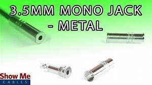 3 5mm Metal Mono Jack