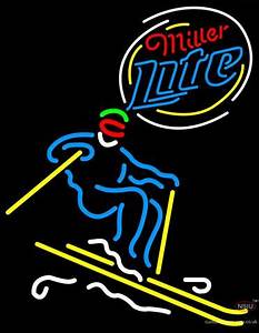 Skier Neon Signs – Custom Neon Sign in UK