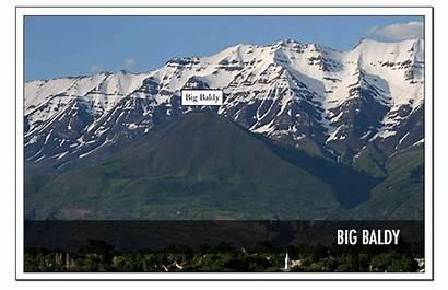 Utah Baldy Mountains Ridge Mountain Trail Date
