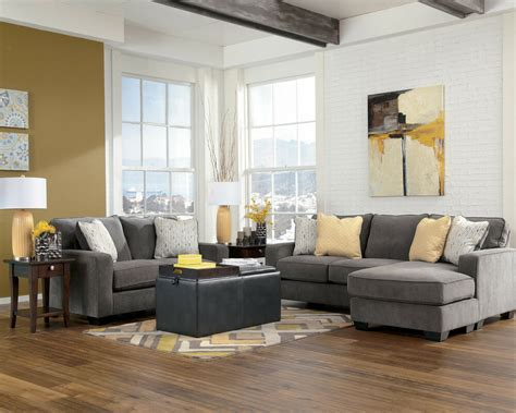 Living Room Sofas And Loveseats by Marble Contemporary Sectional Sofa Chaise And Loveseat Set