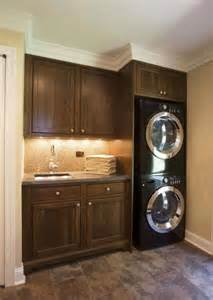 laundry room stacking washer dryer for the home