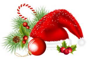 transparent santa hat and ornaments decoration png clipart gallery yopriceville