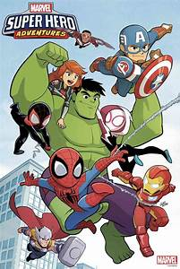 All-New, All-Ages Comic Book Series MARVEL SUPER HERO ...