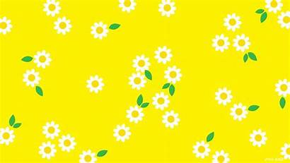 Yellow Aesthetic Desktop Backgrounds Background Spring Wallpapers