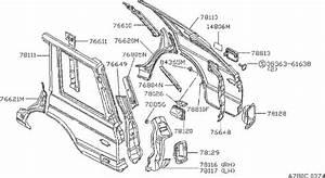 Nissan Maxima Bumper Lid  Rubber Drain Bumper  Rear  Door