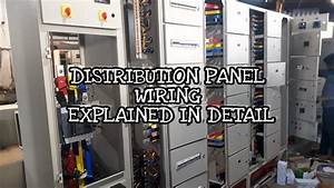 Switchgear Main Lt Distribution Panel Making And Wiring