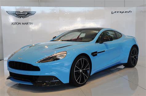 2013 Aston Martin Vanquish Is A Rhapsody In Blue [wvideo