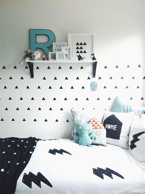 chambre ado fille noir et blanc chambre enfant et blanche