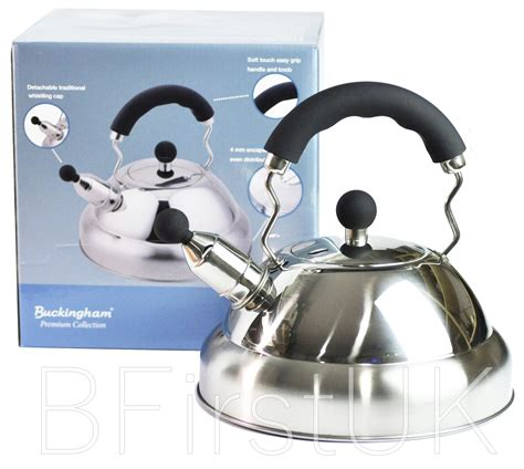 kettle stove stainless steel whistling teapot induction electric gas litre