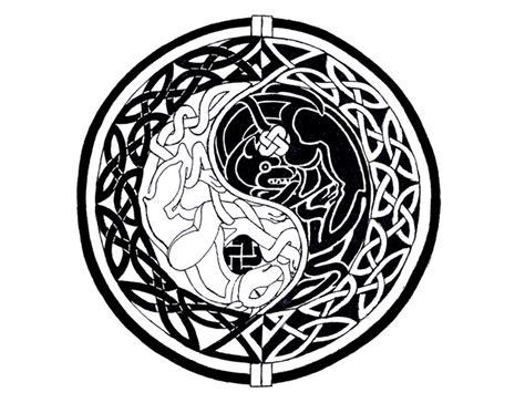 celtic yin  tattoo designs infinity  yin