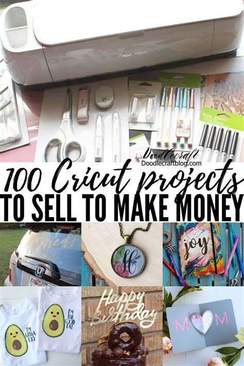 cricut projects  sell   money  cricut maker