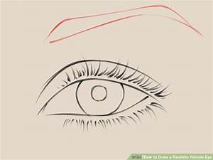 How to Draw a Realistic Female Eye: 10 Steps (with Pictures)