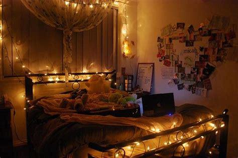 lighting inspiration fairy lights  beds  wall light
