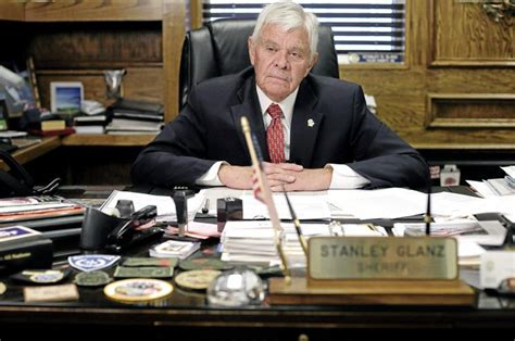 Sheriff Stanley Glanz Says He's Not Resigning But Won't. Job Desk Officer Development Program. Bamboo Tables. Dish Rack Drawer. 6ft Round Table. Art Chest Of Drawers. Distressed Wood Sofa Table. Led Desk Lamp Ikea. How To Make American Girl Doll Desk
