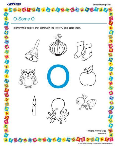 o some o free preschool english worksheet smart