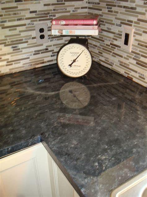 shiny glossy painted laminate countertops